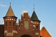 Trevlig arkitektur i Bydgoszcz. Royaltyfria Bilder