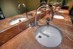 trevlig badrum royaltyfri fotografi