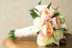 Trevlig blommabukett Arkivfoto