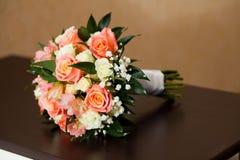 Trevlig blommabukett Fotografering för Bildbyråer