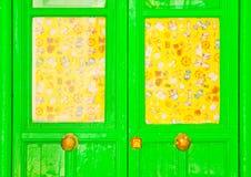 Trevlig dörr Arkivbild