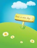 trevlig dag Arkivbild