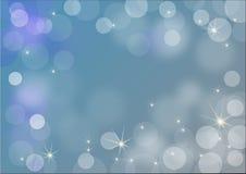 Trevlig förkylningblåttbakgrund Arkivbilder
