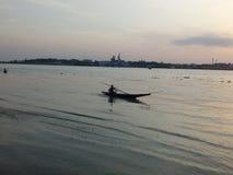 Trevlig flod Arkivfoto