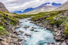 Trevlig flod för rafting! Royaltyfria Bilder
