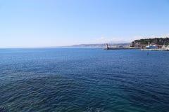 Trevlig fron havet Arkivbilder
