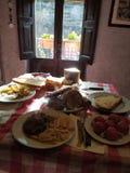 trevlig frukost royaltyfri foto