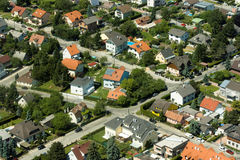 trevlig grannskap Royaltyfri Bild