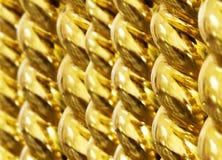 Trevlig guld- bakgrund arkivbild