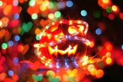 trevlig halloween pumpa Royaltyfria Foton