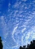 Trevlig himmel i Bangkok Royaltyfri Bild