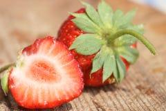 trevlig jordgubbe Fotografering för Bildbyråer