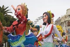 trevlig karneval Arkivfoto