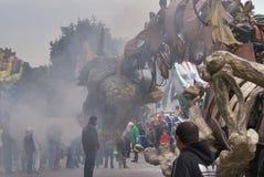 trevlig karneval Arkivbild