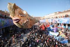 trevlig karneval 2011 Arkivbild