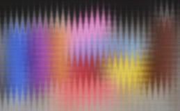 Trevlig mångfärgad unik abstrakt textur Arkivbilder