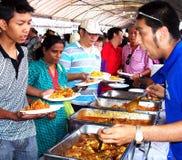 Trevlig malaysisk matmässa Royaltyfri Bild