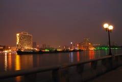 trevlig natt Arkivbilder