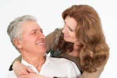 trevlig paråldring Fotografering för Bildbyråer