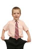 trevlig pojke Arkivfoto