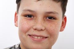 trevlig pojke Fotografering för Bildbyråer
