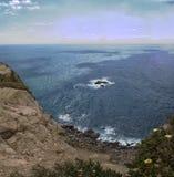 Trevlig sikt av av udde Roca, Portugal Royaltyfria Foton