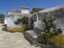 Trevlig sikt av av udde Roca, Portugal Arkivfoto