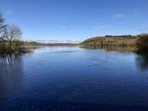 Trevlig sikt i sjön Royaltyfria Bilder