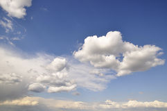 Trevlig skyscape Royaltyfri Foto