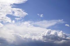 Trevlig skyscape Arkivbilder