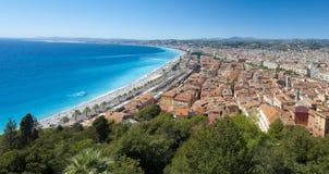 Trevlig stad, Frankrike Arkivbild
