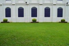 Trevlig stilträdgård Arkivbild