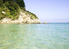 trevlig strand Arkivfoto