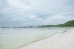 Trevlig strand i den Phu Quoc ön, Vietnam Arkivfoton