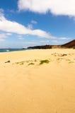 Trevlig strand i kanariefågelön. royaltyfri fotografi