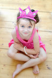trevlig tiaralitet barn för flicka Royaltyfria Foton