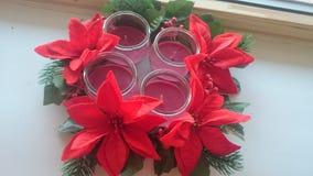 Trevlig tid för juladvent Royaltyfria Bilder