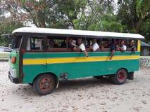 trevlig unic buss Fotografering för Bildbyråer