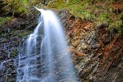 trevlig vattenfall Fotografering för Bildbyråer
