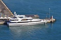 trevlig yacht för france hamnld Royaltyfria Foton