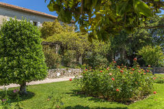 trevliga france Cimiez klosterträdgård - 11 Royaltyfri Foto