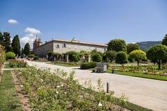 trevliga france Cimiez klosterträdgård - 16 Arkivfoto