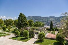 trevliga france Cimiez klosterträdgård - 5 royaltyfria bilder