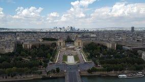 Trevliga Paris arkivfoto