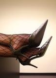 trevliga skor Arkivbild