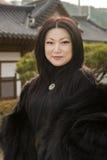 Trevliga unga asiatiska kvinnor Arkivfoton