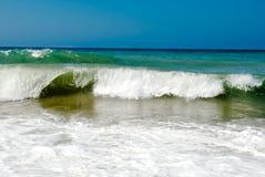 trevliga waves Royaltyfria Foton
