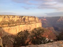 Trevligt Grand Canyon Arkivbild