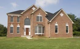 trevligt hus Arkivbilder