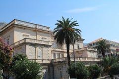 Trevligt hus i Dubrovnik, Kroatien Royaltyfri Foto